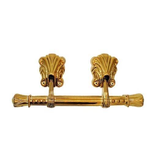 Swing bar casket handle